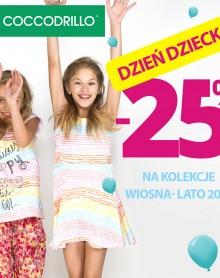Rabat -25% z okazji Dnia Dziecka w COCCODRILLO