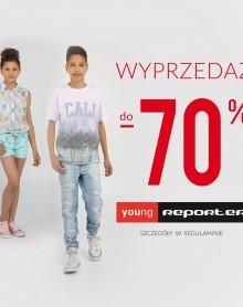 WYPRZEDAŻ do -70% – REPORTER YOUNG