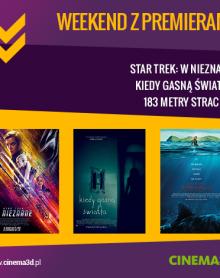 Premierowy weekend w CINEMA 3D