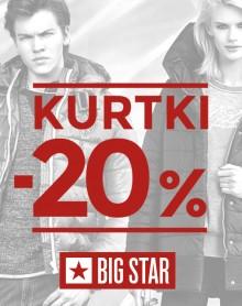 Kurtki – 20% BIG STAR