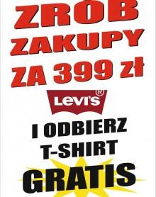 Zrób zakupy i odbierz T-shirt