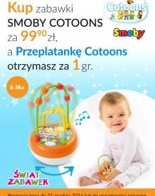 Promocja Smoby Cotoons w Świat Zabawek