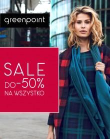 WYPRZEDAŻ do -50% na WSZYSTKO w Greenpoint!