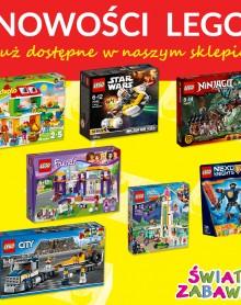 Nowości od LEGO  w ŚWIECIE ZABAWEK!