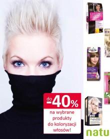 -40% na wybrane produkty do koloryzacji włosów – DROGERIA NATURA