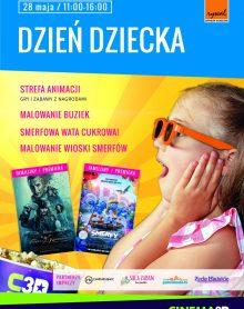 Tęczowy Dzień Dziecka z kinem CINEMA 3D