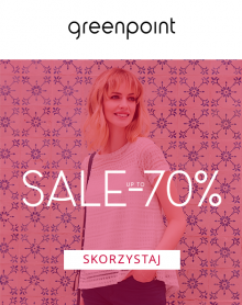 """GREENPOINT """"Sale up to -70%"""""""