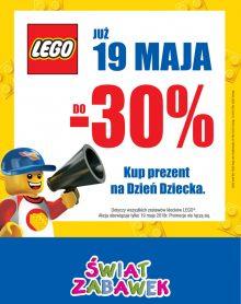 ŚWIAT ZABAWEK  LEGO do -30%!