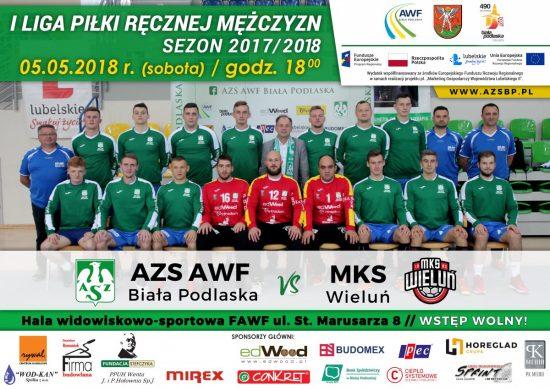 ZAPRASZAMY NA MECZ AZS AWF Biała Podlaska VS MKS Wieluń