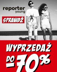 REPORTER YOUNG SALE! Rabaty nawet do -70%!