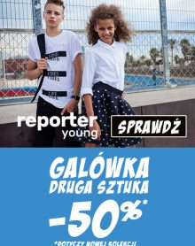 REPORTER YOUNG -50% kolekcja GALOWA JESIEŃ / ZIMA 2018
