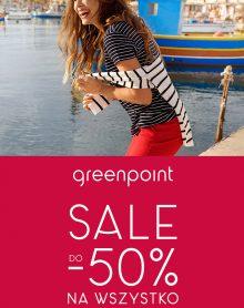 GREENPOINT SALE do – 50% na wszystko!