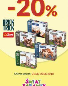 ŚWIAT ZABAWEK Brick Trick – 20%!