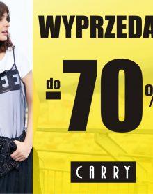 CARRY WYPRZEDAŻ do -70%!