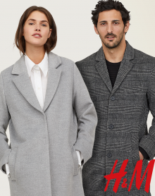 H&M Na jesienne chłody.