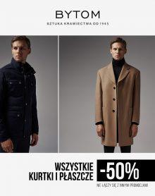 BYTOM kurtki i płaszcze – 50%!