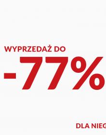 HOUSE Wyprzedaż do -77%