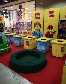 ŚWIAT ZABAWEK Strefa LEGO