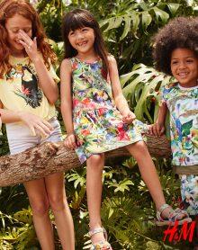 H&M – Wyjątkowa kolekcja dziecięca w tropikalne wzory !