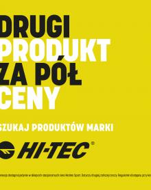 MARTES SPORT -50% na drugi produkt Hi-Tec
