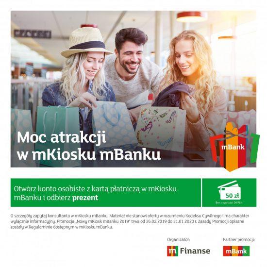 Otwórz konto i odbierz prezent – promocja mBanku