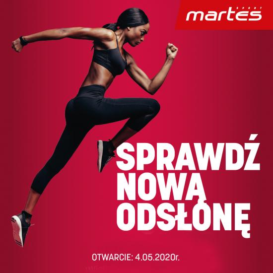 Nowa odsłona Martes Sport!
