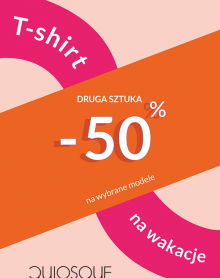 QUIOSQUE drugi T-shirt -50%!